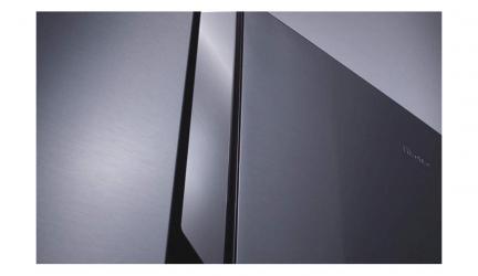 Hisense RS694N4TF2, frigorífico americano diseñado en acero negro