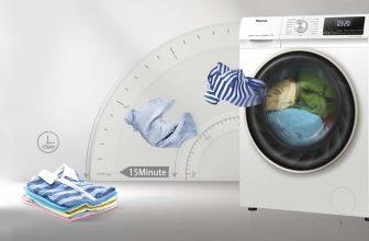 Hisense WFPV9014EM, interesante lavadora a buen precio