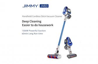 JIMMY JV83, aspirador de escoba ligero y con varios accesorios
