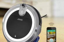 JISIWEI I3, robot aspirador barato y con cámara web
