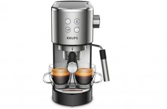 Krups Virtuoso: la cafetera que mantendrá tu café siempre caliente