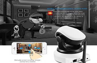 LESHP IP WiFi P2P, cámara de vigilancia con control por smartphone