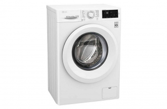 LG F2J5HN3W, lavadora de 1200 rpm sencilla y silenciosa