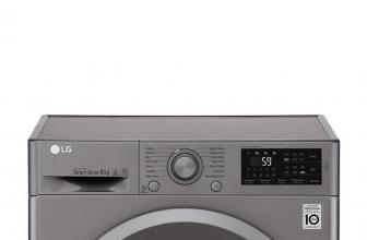 LG F4J5TN7S, lavadora con Smart Diagnosis y muy fácil de usar