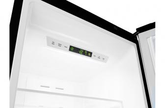LG GBB60MCPFS, diseño elegante negro y eficiencia de A+++