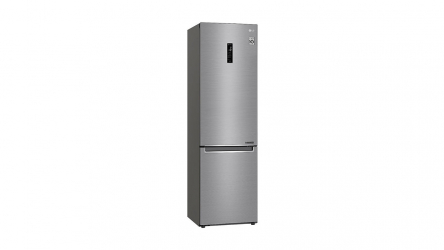 LG GBB62PZHZN, interesante frigorífico combi en acero inoxidable