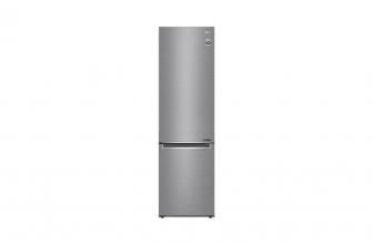 LG GBB62PZJMN, bonito frigorífico combi en acero inoxidable