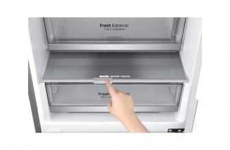 LG GBB72NSDFN, un frigorífico combi bonito y espacioso