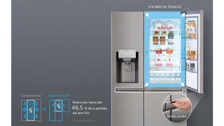 LG GSJ361DIDV, un buen frigorífico americano sistema Door in Door