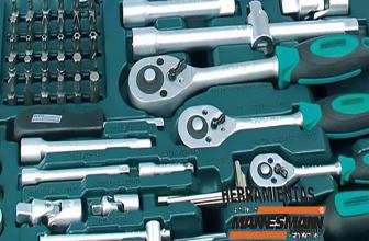 Mannesmann M98430, caja de herramientas con 215 piezas