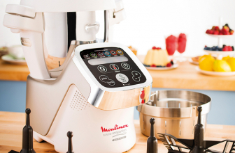 Moulinex HF800A13, robot de cocina con hasta 300 recetas.