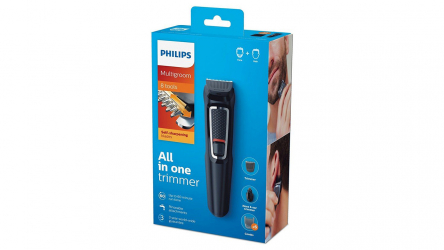 Philips MG3730/15, máquina de afeitar con hasta 8 accesorios