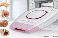 ProfiCare IPL3024, depiladora económica y práctica de luz pulsada.