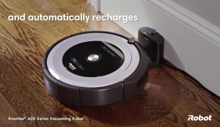 Roomba 604, robot aspirador sencillo y de calidad a buen precio.