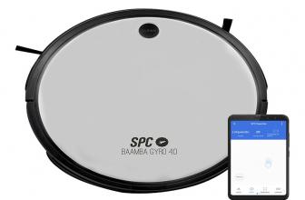 SPC Bamba Gyro 4.0, robot aspirador compatible con asistentes virtuales