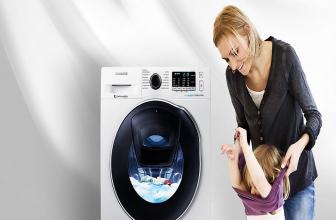 Samsung WD80K5410OW, la lavasecadora que te ayuda a ahorrar tiempo