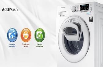 Samsung WW80K5410WW, lavadora con AddWash