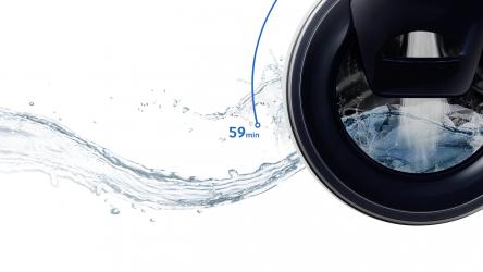 Samsung WW80T4540TE/EC, lavadora blanca clásica con AddWash