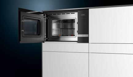 Siemens BE525LMS0, microondas integrable con control deslizante
