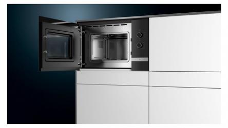 Siemens BF520LMR0, sencillo y estético microondas muy fácil de usar