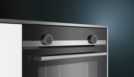 Siemens HB510ABR0, cocina en tres niveles con este horno