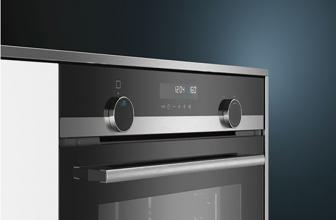Siemens HB578G0S00, elegancia y diseño en este horno pirolítico negro