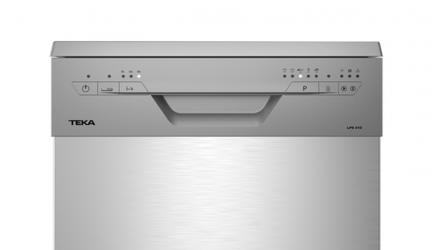 Teka LP8 410, lavavajillas pequeño en acero inoxidable