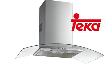 Teka NC 985, una moderna y elegante campana extractora.