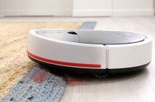 Vileda VR102, robot aspirador con boca de succión y depósito XL