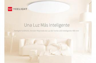 Yeelight YLXD42YL, lámpara LED blanca que reproduce la luz natural