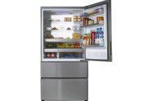 Haier A3FE742CMJ, ¿has visto este frigorífico combi inox ancho?