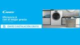 Lavadora Candy RapidO: Cómo comprarla con envío e instalación gratis