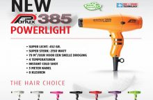 Parlux 385, características de un secador de pelo iónico a la moda